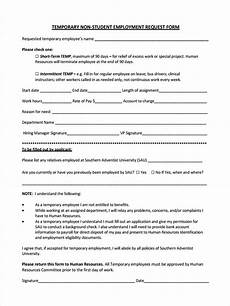 free 49 sle employee request forms in pdf word