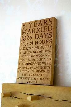 5th Wedding Anniversary Gifts For