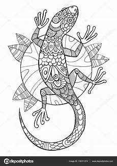 mandala coloring pages lizard 17931 lizard coloring book for adults vector stock vector 169 alexanderpokusay 132311274