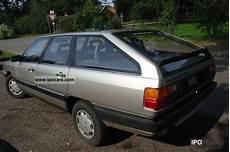 1987 Audi 100 Avant Cc Car Photo And Specs
