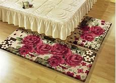 bettumrandung 3 teilig bettumrandung 3 teilig mit rosenmotiven teppiche bader