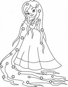 Malvorlagen Prinzessin Rapunzel Malvorlagen Prinzessin Rapunzel Stock Vektor Und Mehr