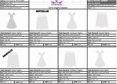 line sheet template fashion angel warrior