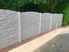 palissade jardin beton palissade en beton cl 244 ture li 232 ge