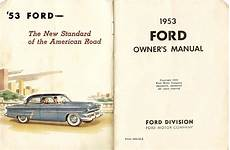old cars and repair manuals free 2011 ford expedition parental controls directory index ford 1953 ford 1953 ford owners manual