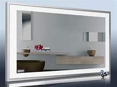 infrarot heizkörper spiegel design spiegel heizk 246 rper mit led licht 4 seitig led line