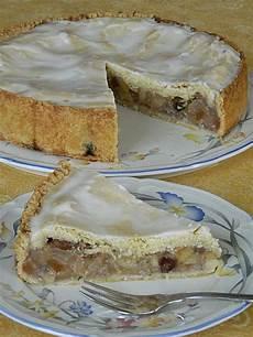 Apfelkuchen Mit Decke - gedeckter apfelkuchen mit glasierter decke rezept mit