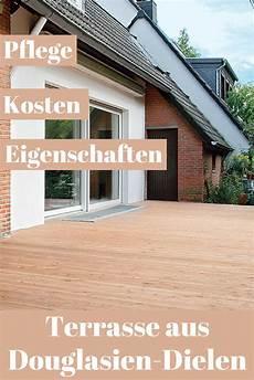 Terrasse Aus Douglasien Holzdielen Terrasse Gartenwege