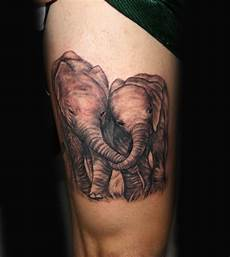 wild tattoos elephant tattoos