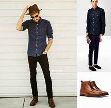 how to wear brown shoes black mens black