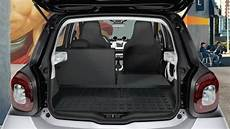 smart forfour 2015 dimensions boot space and interior