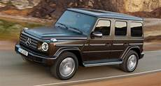 new mercedes g class is already on the used car market