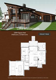 timber frame house plans canada lake wabamum timber frame design frame design house