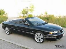 1999 chrysler stratus cabrio t 220 v new 8x alu air