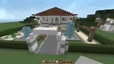 minecraft tutorial wie baue ich eine kleine luxusvilla