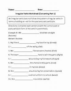 free past tense regular and irregular verb sort worksheets activities gray and the words