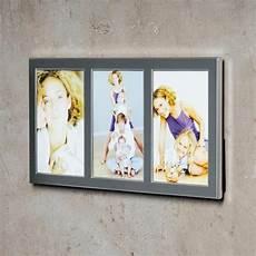 levandeo bilderrahmen 3 fotos 10x15cm collage alu