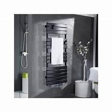 seche serviette noir electrique 65947 radiateur s 232 che serviettes riviera digital 750 w noir carbone thermor 498606 domomat