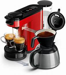 switch pad und filterkaffeemaschine hd6592 80 senseo 174