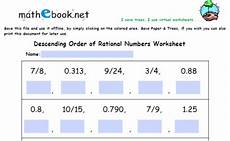rational and irrational numbers independent practice