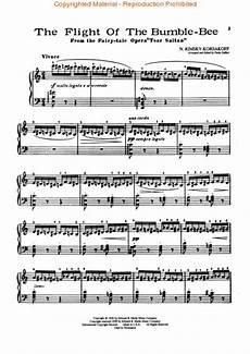 flight of the bumblebee sheet music by nikolay andreyevich