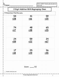 subtraction worksheets for grade 2 with borrowing 10382 two digit addition with regrouping worksheet satta worksheets and math