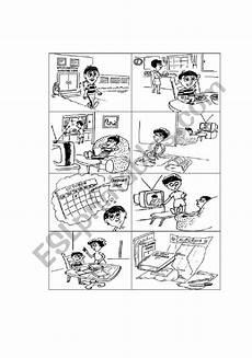 story telling esl worksheet by clau25
