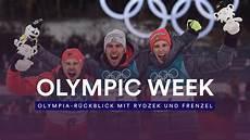 Olympia 2018 Eric Frenzel Und Johannes Rydzek Blicken Auf