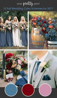 10 Amazing Wedding Color Palettes For Fall