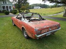 1965 Ford Mustang K Code Convertible Project