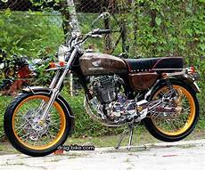Cb Modif Trail by Gambar Modifikasi Motor Cb 100 Simple Honda Cb Honda