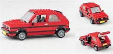 Lego Golf Gti - lego volkswagen golf rabbit gti the lego car