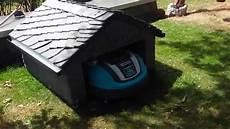 m 228 hroboter garage aus schiefer f 252 r gardena r70li lawn