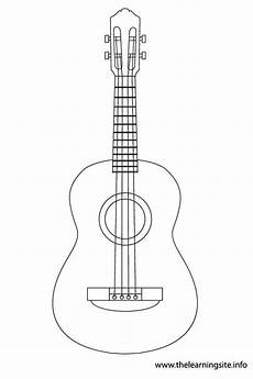 ukulele instruments coloring pages manualidades