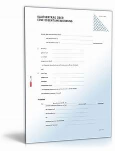 Kaufvertrag 252 Ber Eine Eigentumswohnung Muster Vorlage
