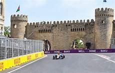 2017 Formula 1 Azerbaijan Grand Prix One Two Day Tickets
