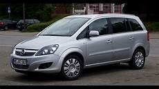 Opel Zafira 2006 секонд тест
