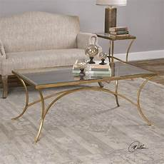 Gold Coffee Table alayna gold coffee table from uttermost coleman furniture