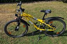 kinder fahrrad bocas digger 240 rahmen gelb neuwertig