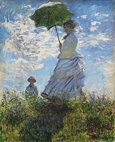 Le Frau Mit Schirm - donna con parasole la signora monet con suo figlio