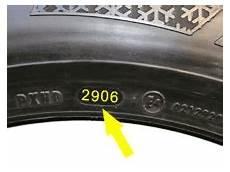 Alter Reifen - dot nummer auf reifen
