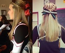 Hairstyles For Cheerleading