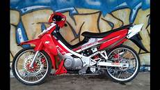Modifikasi Satria 2 Tak Airbrush motor trend modifikasi modifikasi motor suzuki