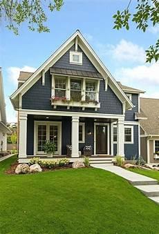 blue house with trim modern farmhouse exterior house paint exterior cottage exterior