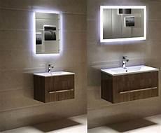 spiegel mit led dr fleischmann badspiegel led spiegel gs084n mit