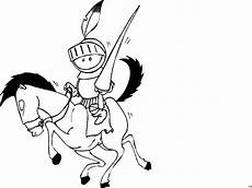 Malvorlage Pferd Comic Ritter Auf Pferd Ausmalbild Malvorlage Comics