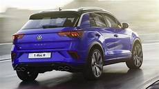 vw golf t roc the 2019 volkswagen t roc r is the big golf r with 296 hp