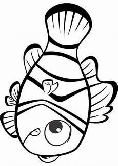 Malvorlage Nemo Fisch Fische Ausmalbilder 09 Ausmalbilder