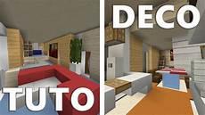 Tuto Deco Maison Moderne Minecraft