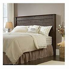 headboard oak full queen size finish wooden rustic modern country cottage bed ebay